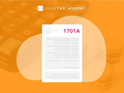 e-File and e-Pay BIR Form 1701A with Fast File